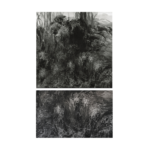 Black Tide Drawings (2007-08) / Candice Ivy